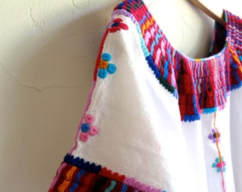 The Embroidered Collar Ethnic Tunic