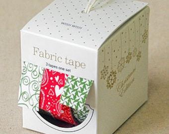 Nuage Fabric Masking Tape - Wish Wish - Christmas Set 3