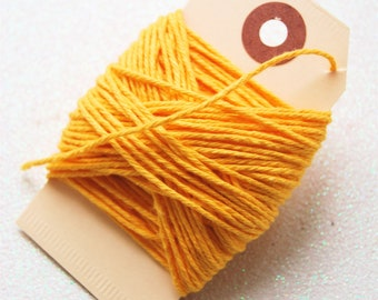 Solid Yellow Twine 15 yards