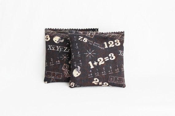 Reserved for Kirsten ~ Blackboard Lavender Sachets, School Themed Unique Teacher Gift, Lavender Aromatherapy Bags