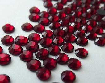 SIAM Glass Rhinestones 16ss 4mm Hotfix 1 Gross 144 Pcs