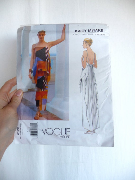 Issey Miyake Avant Garde Dress Pattern