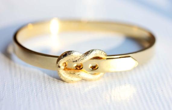 Gold Buckle Bracelet