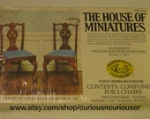 House of Miniatures Kit NO 40026 Cabriole leg Chippendale chair/circa 1760