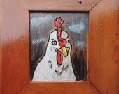 Candid Chicken portrait