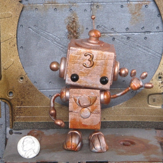 Steampunk Robot Number 3