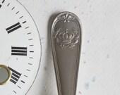 Spoon Keychain Silverware Key Ring Spoon Key Ring Crown Pattern