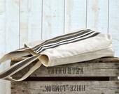 Waterproof BEST SELLER Tote bag/Diaper bag/Messenger bag PARIS Brown nautical stripe - Leather straps