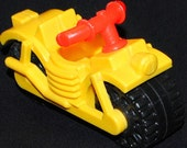 Fisher Price Little People yellow Motorcycle