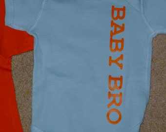 NEW Baby brother shirt custom shower gift