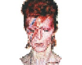 David Bowie Low-res Portrait Print