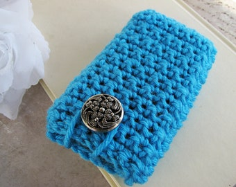 Clear Skies Crocheted Gadget Cozy