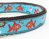 Here Fishy Fishy - Dog Collar