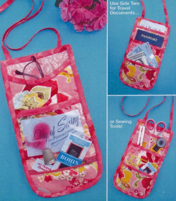 Sew N Go Sewers Wallet pattern by Joy of Sewing