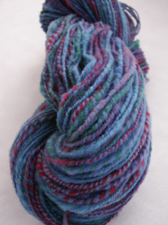 Handspun Babydoll Southdown Wool - 138 yds - Worsted wt - 2 ply