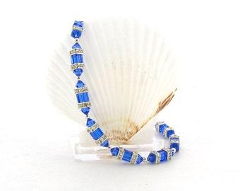 Swarovski Bracelet - Sapphire