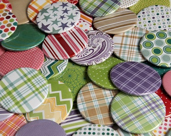 50 Pocket Mirrors 2 1/4 inch - Bridal Wedding Shower Favors - Classic Collection
