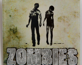 Zombies - Button Pinback Badge 2 inch Square