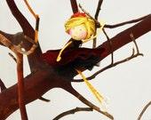 Spanish Dancer from the Nutcracker Ornament, Nutcracker Ballerina Doll Ornament, Doll in Spanish Dance Costume, Nutcracker Gifts