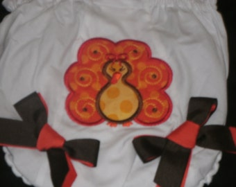Traditional Turkey  Bloomers Diaper Cover