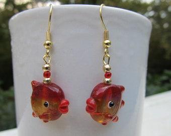 Swimmingly Fun Tropical Fish Earrings