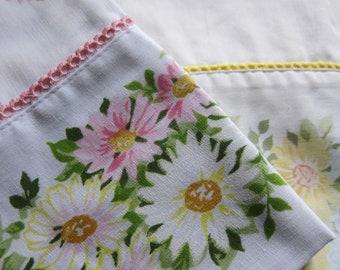 LOT 4 vintage pillowcase MORGAN JONES  2 pair