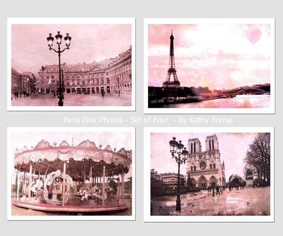 Paris Photography, Paris Prints, Paris Pink Wall Art, Paris Baby Girl Nursery Prints, Paris Eiffel Tower Wall Art, Paris Pink Wall Art Decor