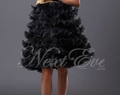 Organza Flared Mini Short Prom Dress - REN10A94