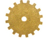 19mm Gear Anitique Gold - Trinity Brass Co (3pc)