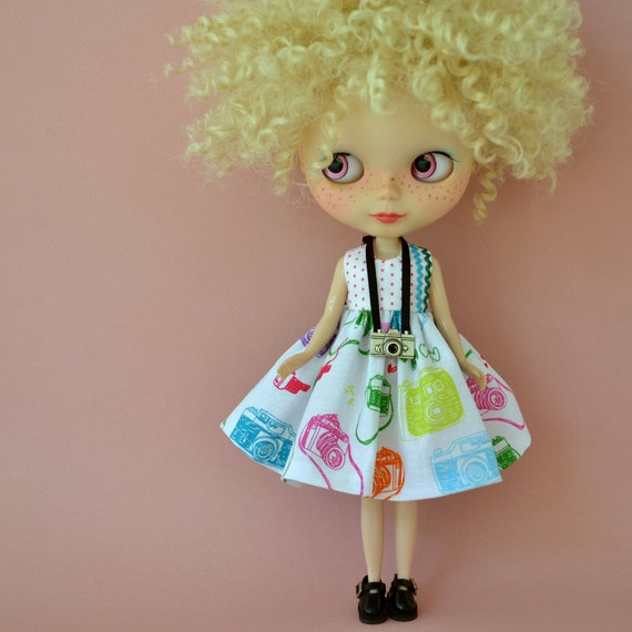 You Ought to be in Pictures - Dress Set for Blythe Kenner Neo Blythe Pullip or similar size doll