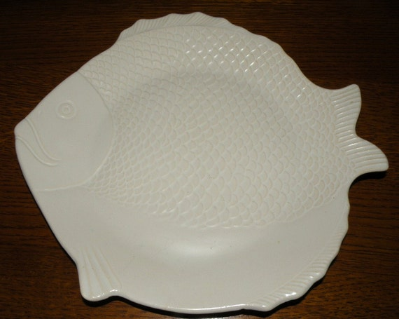 Vintage Chicken of the Sea Tuna Plate