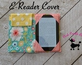 "Kindle Cover Pattern, Ereader Case Pattern, PDF Sewing Patterns, iPad, iPad Mini, Kindle Fire, ""The E-reader Cover"""