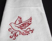 Towels Kitchen or Hand towel machine embrodered