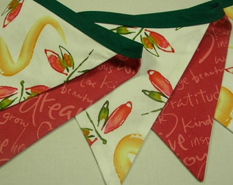 Free USA Shipping/Dragon Fly Fabric Banner/Designer Fabric Banner/Fabric Flags/Photo Prop/Birthday Party/Nursery Decor/Home Decor Banner