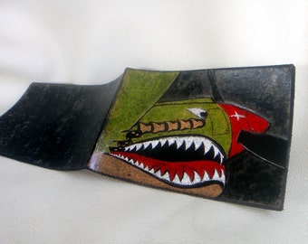 Warhawk Tooled Leather Wallet