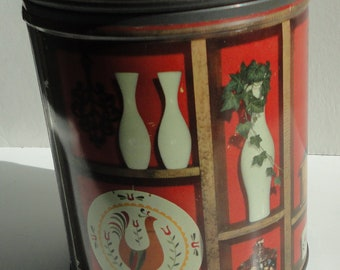 1950s  Country Kitchen Tin Can