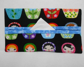 Matryoshka Tissue Cozy/Gift Card Holder/Party Favor/Wedding Favor