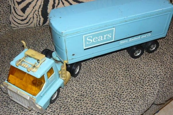 Large Sears Tractor Trailer Truck 1960 S By