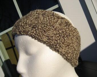 Womens Headband Knitted Tweed Look Turban Head Band Accessories Hat Ear Warmer