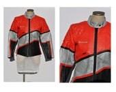 vintage leather jacket leather motorcycle jacket womens leather motorycle jacket 1970s cafe racer jacket