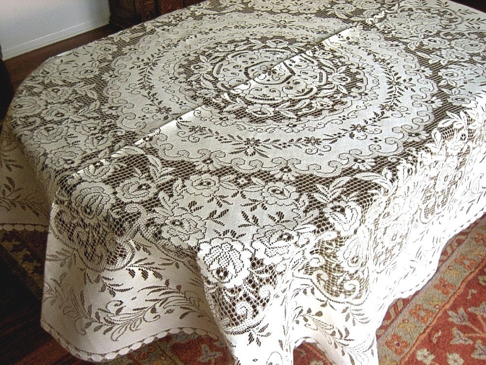 Image Result For Quaker Lace Tablecloth