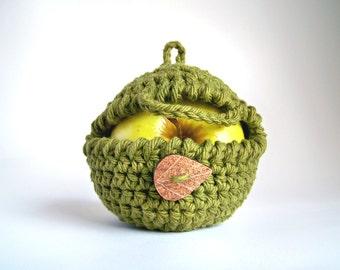 Apple Cozy, Graduation Gift, Crochet Apple Cozy, Snack Bags, Teacher Gifts, Vegan Gift, Yoga Gifts Fitness Gifts School Gifts Boyfriend Gift