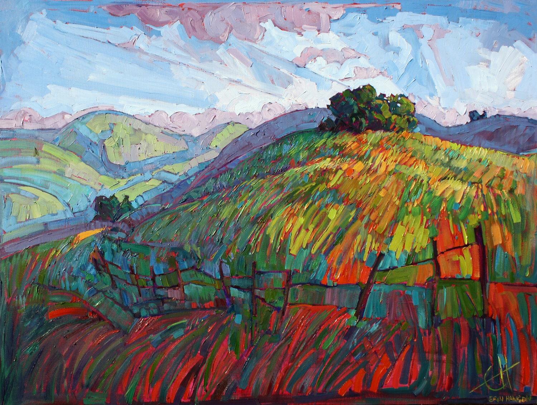 Paso robles california impressionist landscape original oil for Artworks landscape ltd