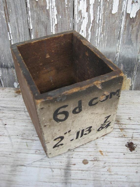 Vintage Industrial Box