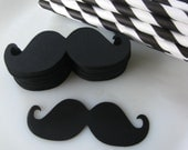 DIY Imperial Mustache Straw Kit 25 Paper Straws Photo Prop