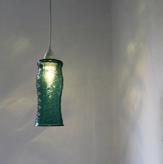 JEWEL Hanging Pendant Lighting Fixture UpCycled By BootsNGus