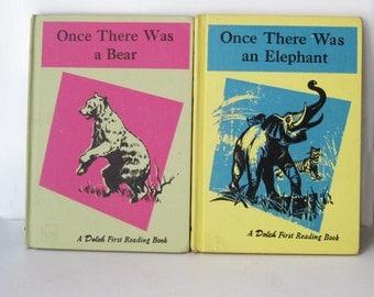 Vintage Children's Books, First Readers