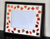 Falling Leaves 8x10 picture frame
