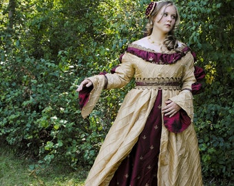 CUSTOM Renaissance Italian Borgias Ever After dress costume