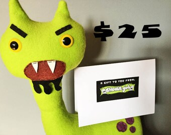 Ghoulie Girls 25 Dollar Gift Certificate